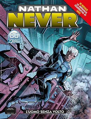 L'uomo senza volto - Nathan Never 360 cover