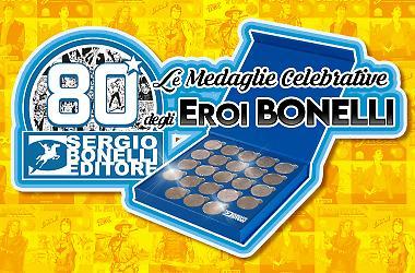 Le medaglie degli Eroi Bonelli!