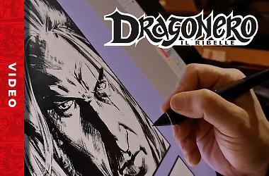 Luca Malisan disegna Dragonero!