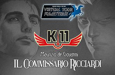 Ricciardi e K-11 al Virtual Tour Fumetterie!