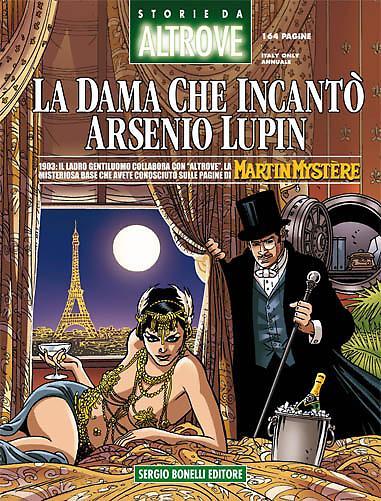Storie di Altrove 15 - La dama che incantò Arsenio Lupin