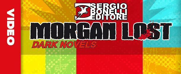 Morgan Lost Dark Novels a Cartoomics 2018!