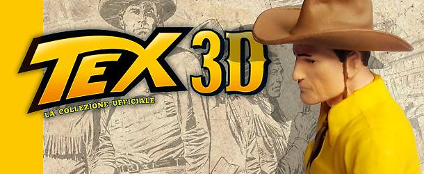 Tex 3D arriva in edicola!