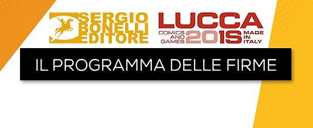Le firme dei nostri autori a Lucca