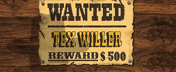 Tex Willer Wanted Box!