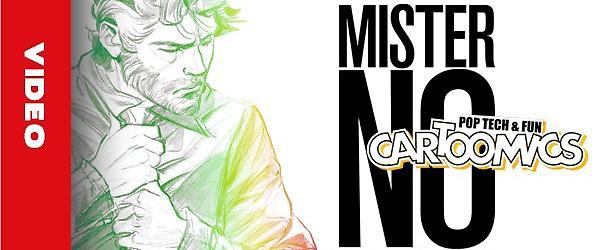 Mister No a Cartoomics