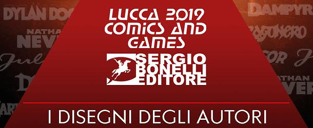 Le stampe degli Eroi Bonelli a Lucca 2019!