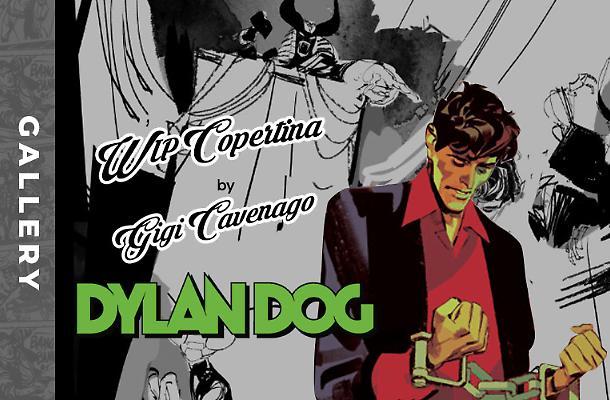 Il work in progress della copertina di Dylan Dog 417!